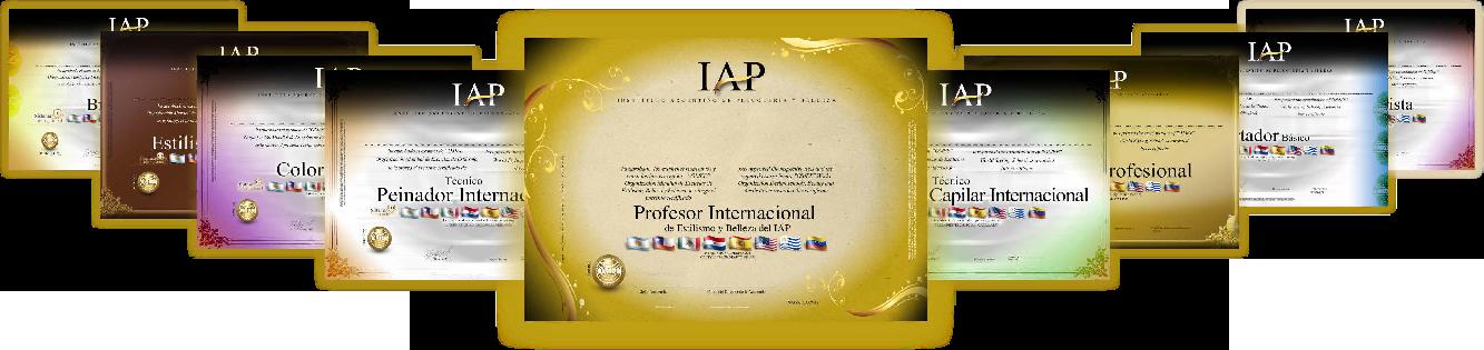 Certificados IAP